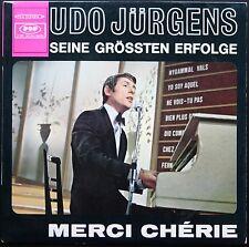 UDO JURGENS SEINE GROSSTEN ERFOLGE 33T LP POP GEMA 10.130 MERCI CHERIE quasi NEU