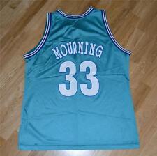 *1990's CHARLOTTE HORNETS / ALONZO MOURNING* vtg champion jersey shirt XL-48 NBA