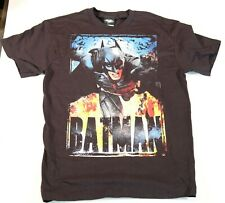 Batman the dark knight rises mens medium black t shirt short sleeve