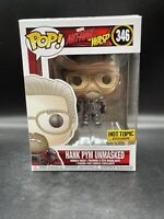 Hank Pym Unmasked - Hot Topic Exclusive Disney Marvel Ant-Man #346 Funko Pop!