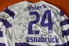 VfL Osnabrück 1899 Bundesliga Spielertrikot + Autogramme Fußball Trikot Nr. 22