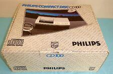 Philips Compact Disc CD100 CD 100 in Original Karton Super Zustand
