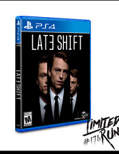 LIMITED RUN #178: LATE SHIFT SONY PS4 REGION FREE PRE ORDER SOLD OUT