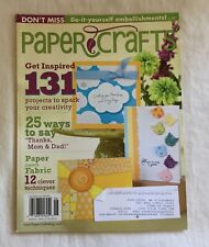 PAPER CRAFTS Magazine for Rubber Stamping and Cards - May ./ June 2010