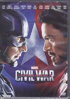 Dvd Marvel **CAPTAIN AMERICA ~ CIVIL WAR** Iron Man Black Panther nuovo 2016