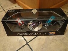 1996 MATTEL HOT WHEELS--AMERICAN CLASSICS 3 CAR SET (NEW)