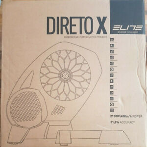 Brand New Sealed  Elite Direto-X Interactive Power Meter Turbo Smart Trainer.
