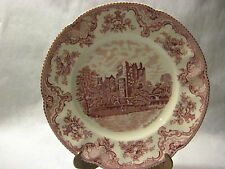 "Vintage Johnson Bros England ""Old Britain Castles"" Dinner Plate, 10"" Dia"