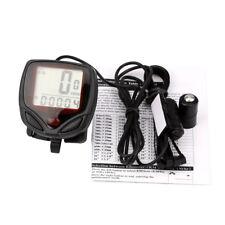 Waterproof LCD Odometer Speedometer Computer Odometer Bike Bike Velocímetro