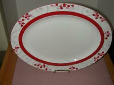 "Lenox Simply Fine Merry Berry 16"" Oval Serving Platter  1st Quality New w/ Tag"