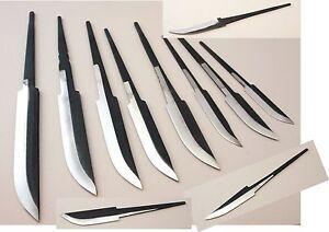 Messerklingen Rohlinge LAURI Finnland Kohlenstoffstahl verschiedene Modelle