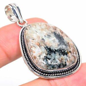 """Russian Charoite Gemstone Handmade Ethnic Jewelry Pendant 2.05"""" TN-198"""