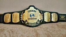 WWF Classic Gold Winged Eagle Championship Adult Size 2MM Replica Belt