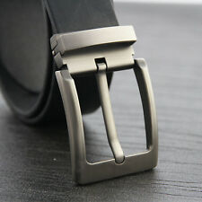 1PCS Silver Gray Quality Pin Buckle for Mens Belt