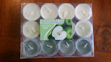 Apple scented tealight candles x 12 BNWT free post D51