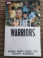 Secret Warriors Complete Collection Volume 1 by Jonathan Hickman & Bendis TPB