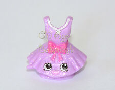 EXCLUSIVE Shopkins Season 6 Glamour Glittery Purple TUTUCUTE Dress Glitter