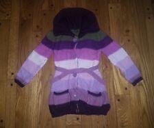 Gap Aviator 5t purple girls striped sweater.