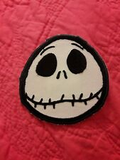 Nightmare Before Christmas Jack Skellington Embroidered Iron On / Sew-On Patch