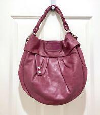 c207efc90adb Marc By Marc Jacobs Purple Leather Classic Q Hillier Hobo Shoulder Bag Purse