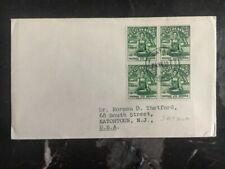 1952 Satua Samoa cover To Eatontown NJ Usa