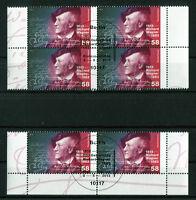 Bund 3008 Viererblock o. Paar gestempelt Vollstempel Berlin ETSST BRD 2013