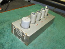 RARE  Vintage Magnasync Tube Playback Preamp P-435    Western Electric Lic.   #2