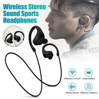 Wireless Neckband Headset Bluetooth Headphones Stereo Sports Earbuds Sweatproof