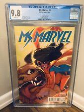Ms Marvel 3 CGC 9.8 Variant 1:25 Babs Tarr Lockjaw 2016 💎 Rare HTF Disney