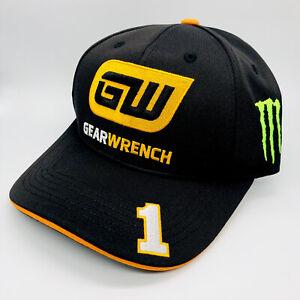 Kurt Busch Monster GearWrench Hat CAP Nascar Chevy Ganassi Pit Crew