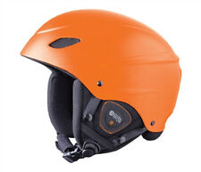 Demon Phantom AUDIO Orange Snowboard/Ski Helmet NEW MEDIUM 54-57cm