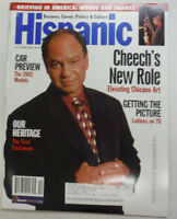 Hispanic Magazine Cheech Marin Grieving In America October 2001 053015R