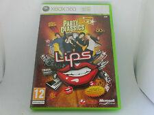 XBOX 360 X box Lips Spiel: Party Classics 90s 80s 79s 60s neuw. kpl. englisch