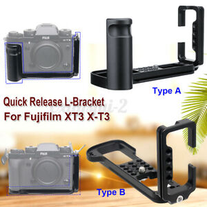Quick Release L-Plate Bracket Camera Mount Grip for Fujifilm X-T3 XT3 W ⇪