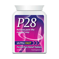 P28 ULTRA FAST PERIOD PAIN RELIEF TABLET NATURAL FORMULA STOP CRAMPS PILLS FAST