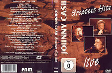 Johnny Cash / Greatest Hits 1955-1994 / Live / DVD von 2005 - Neuwertig !
