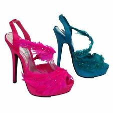 Unbranded Stiletto Synthetic Sandals Heels for Women