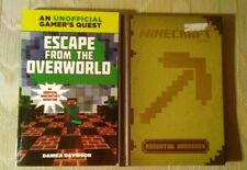 2 Minecraft Books Essential Handbook Mojang Escape From The Overworld By Danica