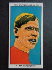 LE SOLEIL soccercards 1978-79 - Charlie Buchan - ANGLETERRE #220