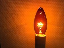 Candele RC FIREGLOW Lampada camino speciale Rosso 235V 40W E14 1500h NUOVO