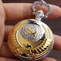 Taschenuhr Pocket Watch CCCP USSR СССР KGB Soviet Union Putin Russia Russland
