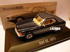 voiture 1/43 ixo altaya MERCEDES : 350 SL 1971