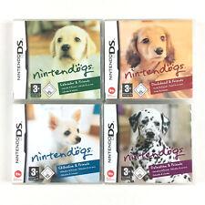 Nintendogs Labrador + Dalmatien + Teckel + Chihuahua / Lot 4 Jeu Sur Nintendo DS