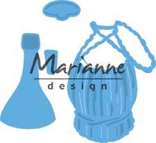Marianne Creatables Die Cut & Embosssing Stencil Tiny's wine Bottle LR0479