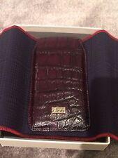 "$950 unused Brioni iphone / blackberry crocodile leather case. Size 2.75""x 5"""
