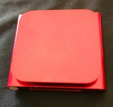 Apple iPod nano 6th Generation Red (16 GB) Excellent Condition