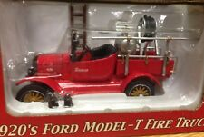 Snap On Tools Collectable 1920s Model T Fire Truck PULL BACK RARE Detailed