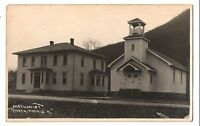 RPPC Methodist Church MORRIS PA Tioga County Pennsylvania Real Photo Postcard