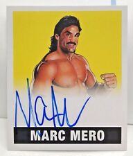 Marc Mero 2017 Leaf Originals Wrestling Alternate Art YELLOW Autograph Auto #/25