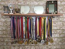 🏅 Large Beech Medal Hanger & Trophy Display Shelf Cricket Rugby Tennis Hockey🏆